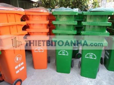 Thùng rác tại Hòa Bình
