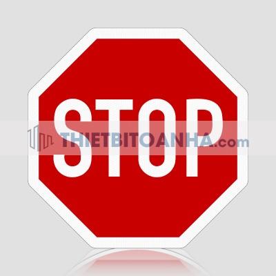 Biển báo dừng xe