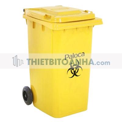 Thùng đựng rác thải y tế có bánh xe 240L