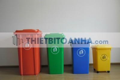 Thùng rác tại Hà Nội