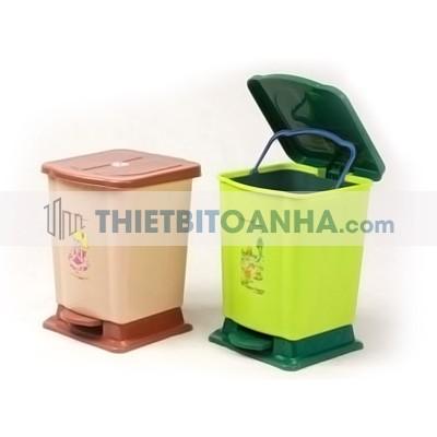 Thùng rác nhựa đạp chân Tân Lập Thành