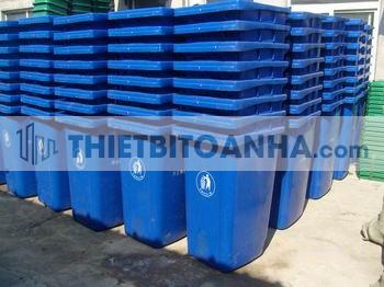 Thùng rác ở Điện Biên