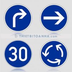 Biển báo giao thông hình tròn (Biển hiệu lệnh)