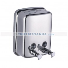 Bình đựng nước rửa tay đôi bằng inox 900ml (2x450ml)