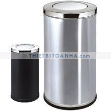 Thùng rác inox nắp lật tiện lợi giá rẻ