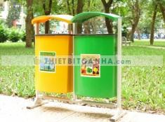 Tư vấn các mẫu thùng rác thích hợp sử dụng cho công viên