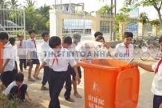 Mẫu thùng rác thích hợp sử dụng tại trường học