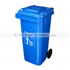 Thùng đựng rác nhựa HDPE 120l
