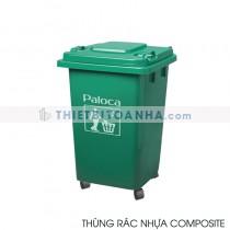Thùng đựng rác nhựa composite 60l