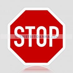Biển báo giao thông hình bát giác (Biển báo dừng xe)