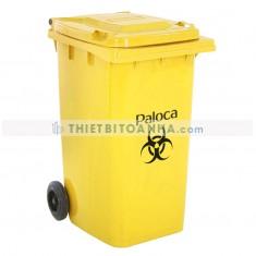 Thùng đựng rác thải y tế có bánh xe