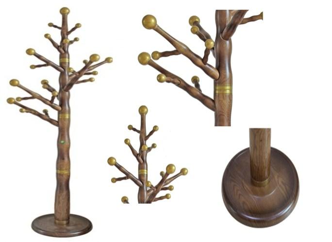 cây treo quần áo bằng gỗ