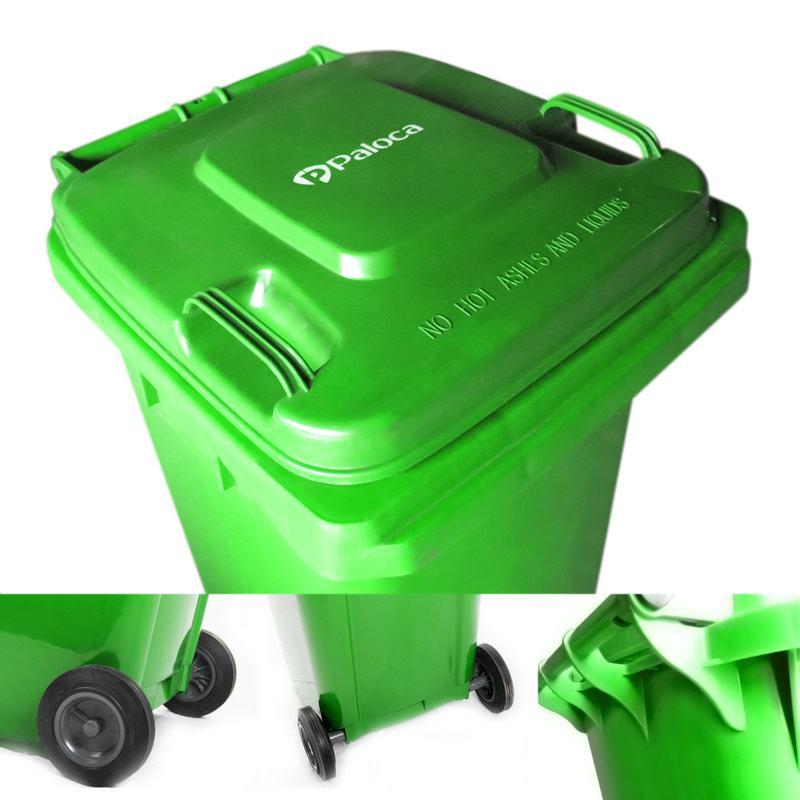 Thành phần cấu tạo thùng rác nhựa 240 lít
