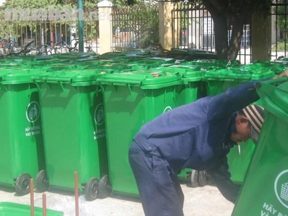 Đại lý bán thùng rác nhựa tại Đà Nẵng