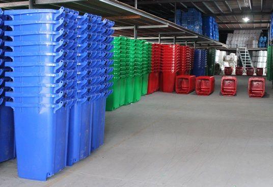 Kho thùng rác nhựa Hành Tinh Xanh