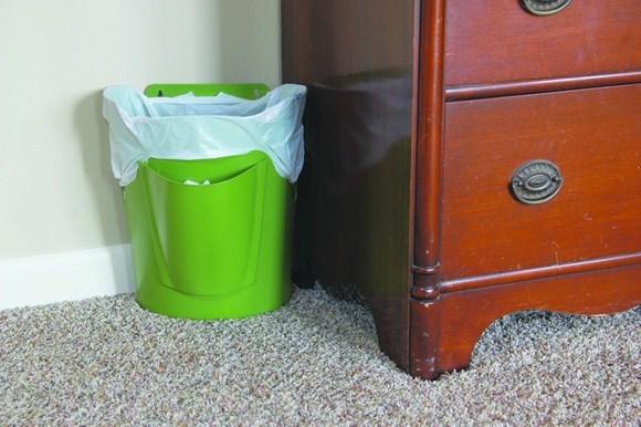 đặt thùng rác đúng phong thủy