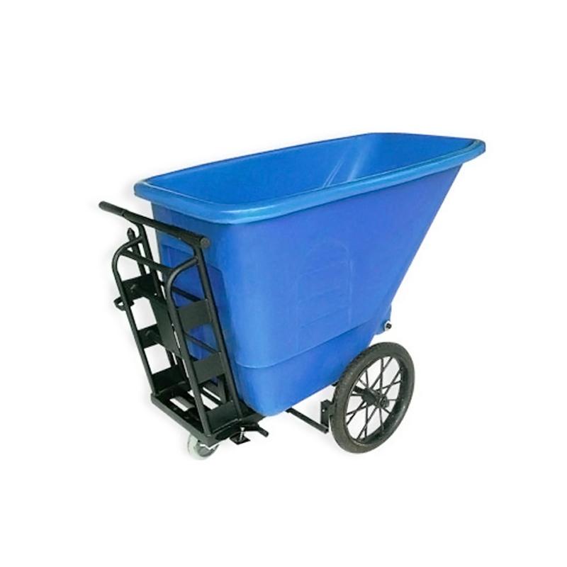 Xe gom rác bằng nhựa